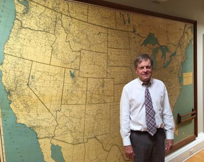 David Jones & Map