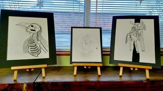 Dalton Wallace Drawings
