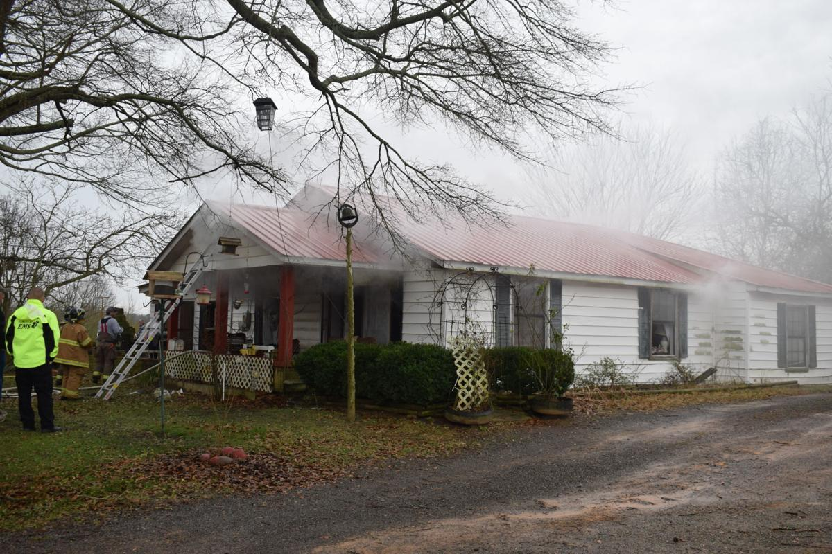Fire on Liberty Rd.