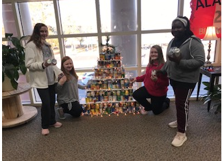 Canned Food Christmas Tree