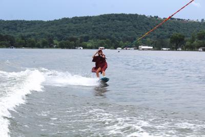 Grad Takes To Skis