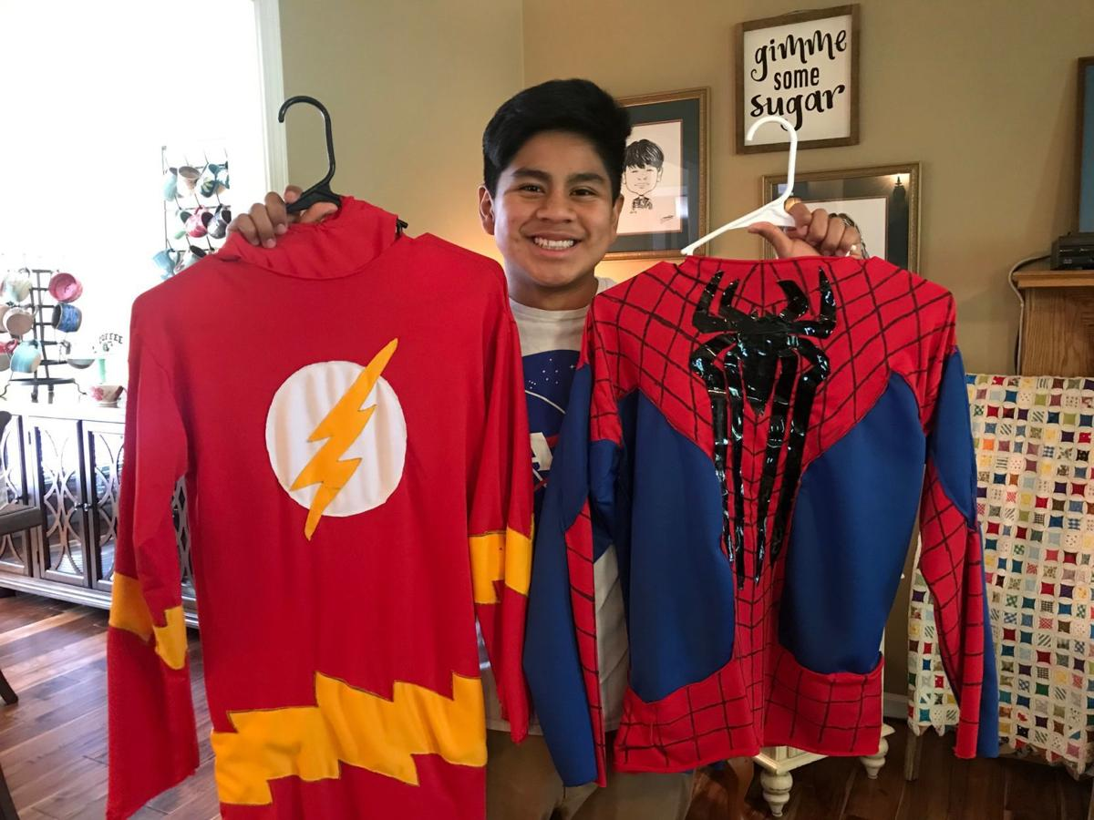 Ian Griffin & His Superhero Costumes