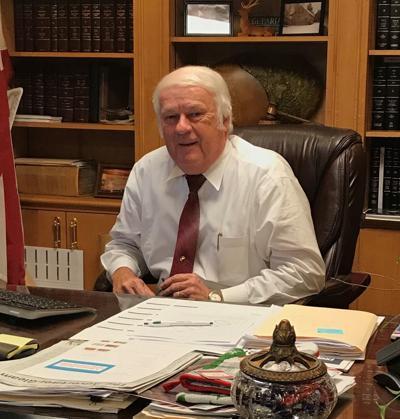 Chairman James Hutcheson
