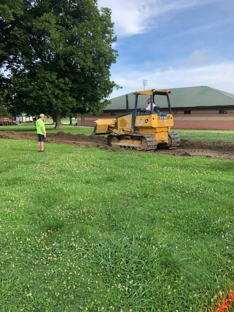 BMHS Leveling Ground