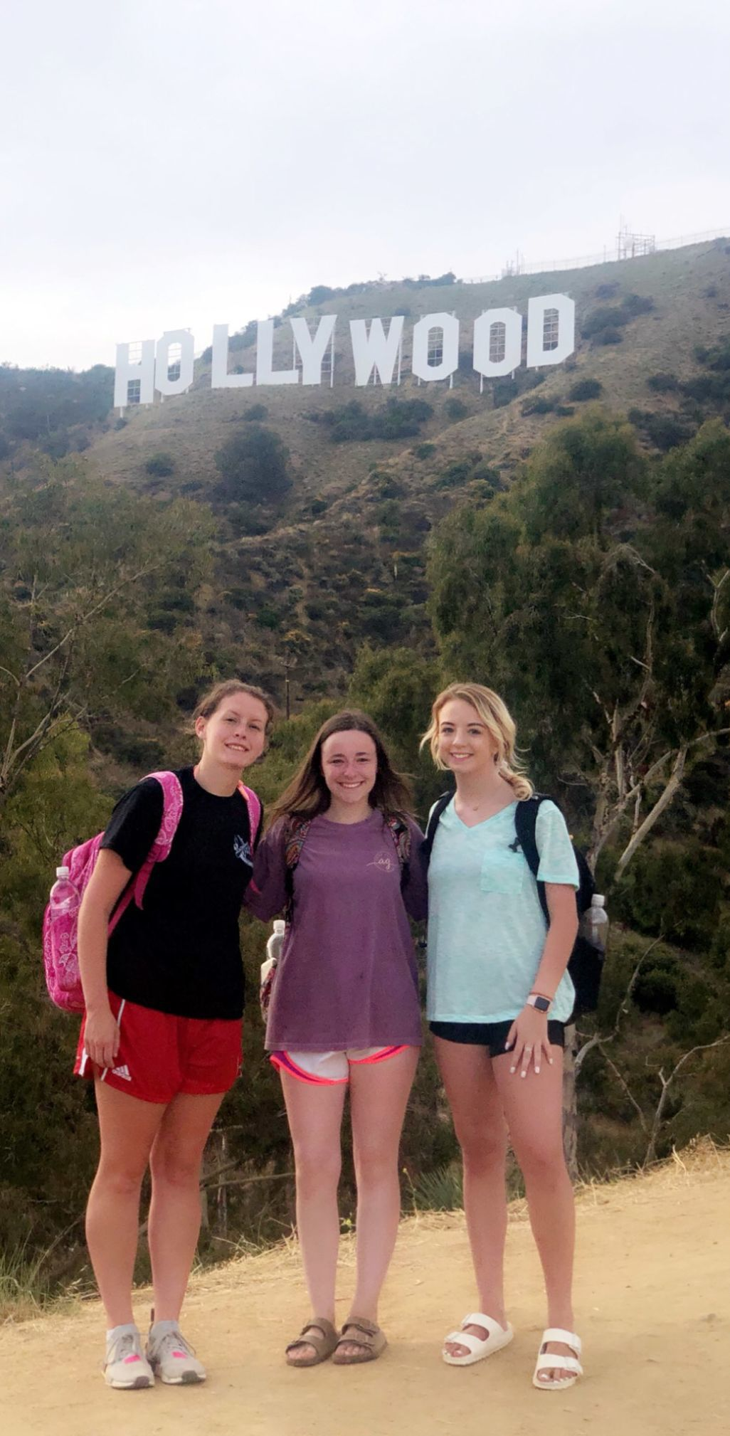 Douglas FCCLA Hollywood Sign