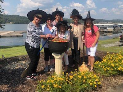 Ladies Civitans Witches