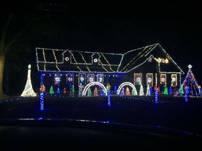 The Gillilands have an LED light display set to music at their home at 400  Hillside Drive between Guntersville and Arab. It's the 7th year for the show . - Dancing Light Display Back News Advertisergleam.com