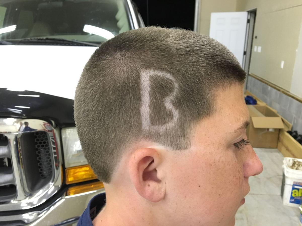a special haircut for the big game news
