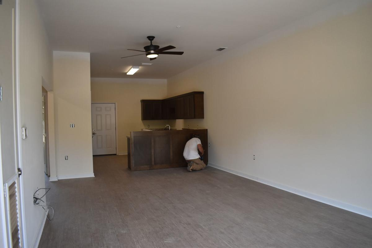 Working on Apartment