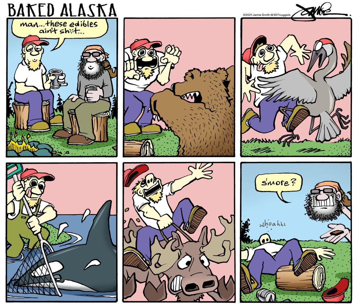 Baked Alaska - S'more?