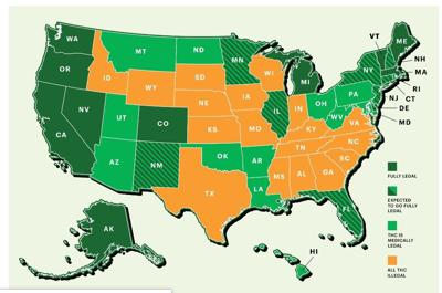 Rolling Stone's United States of Weed map