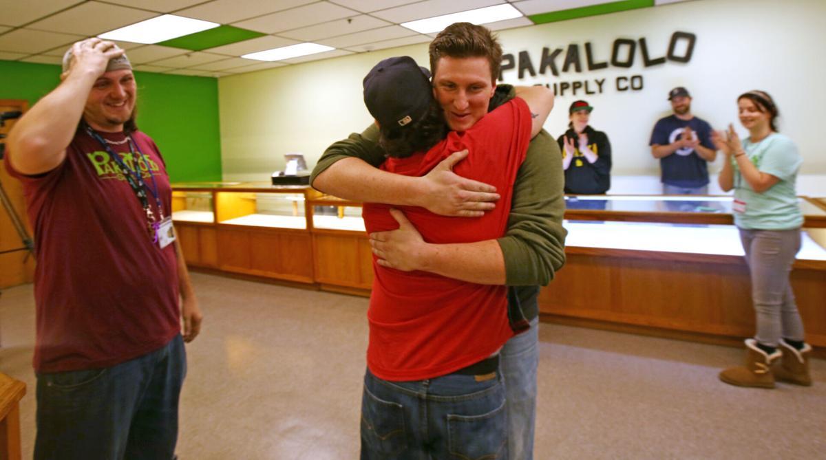 The first legal cannabis sale in Alaska