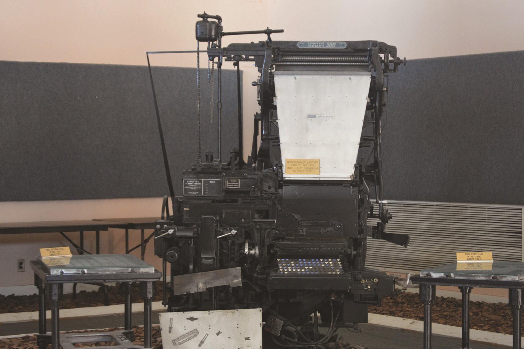 From Linotype to street lights     albanyherald com