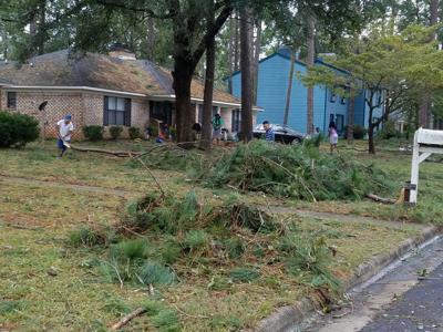 Hurricane Michael leaves path of devastation in Albany