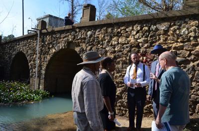 Legislators impressed by historic bridge during Tuesday tour near Radium Springs