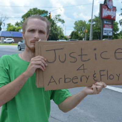 Albany protesters hold peaceful demonstration