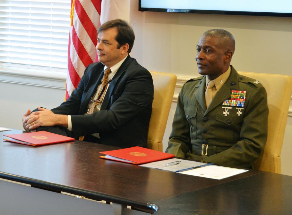 Utility Agreement Signed By Marine Corps Logistics Base Albany City