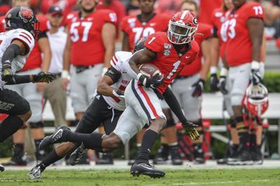 NCAA Football: Arkansas State at Georgia