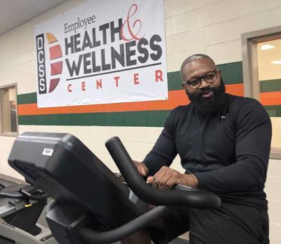 Dougherty School System officials cut ribbon on wellness center