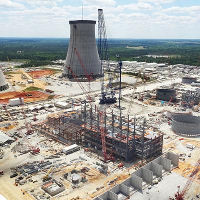 Construction at South Carolina nuclear power plants suspended