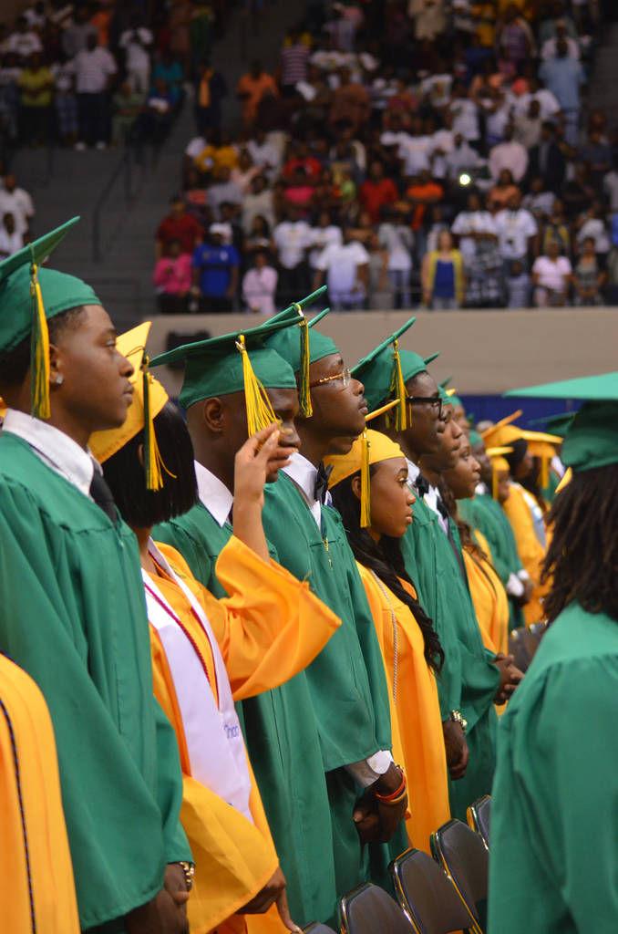 Four Dougherty County high schools graduate 837 seniors Saturday