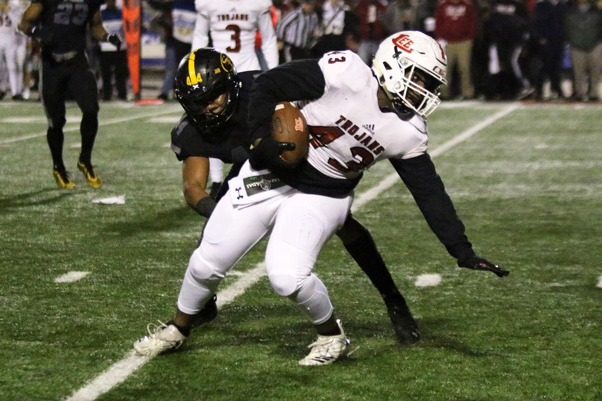 GEICO STATE CHAMPIONS BOWL SERIES: Playing on big stage, Lee County falls to St. Frances 43-14