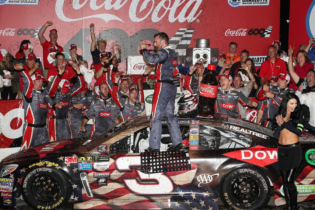 Austin Dillon drives No. 3 to victory lane in Coca-Cola 600 | Sports ...