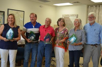 Local  Clean 13  recipients receive plaques for water protection efforts during Albany ceremony