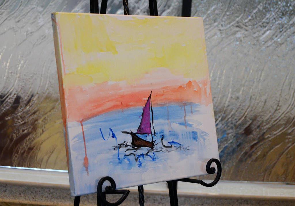 Quadriplegic teen donates painting proceeds to Phoebe