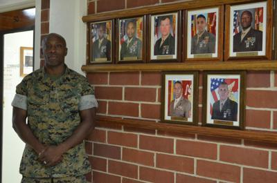 Retiring Marine sergeant major transitioning to new normal