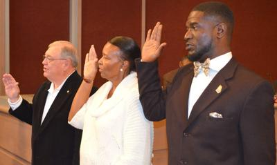 Three Dougherty County commissioners take oath of office ...