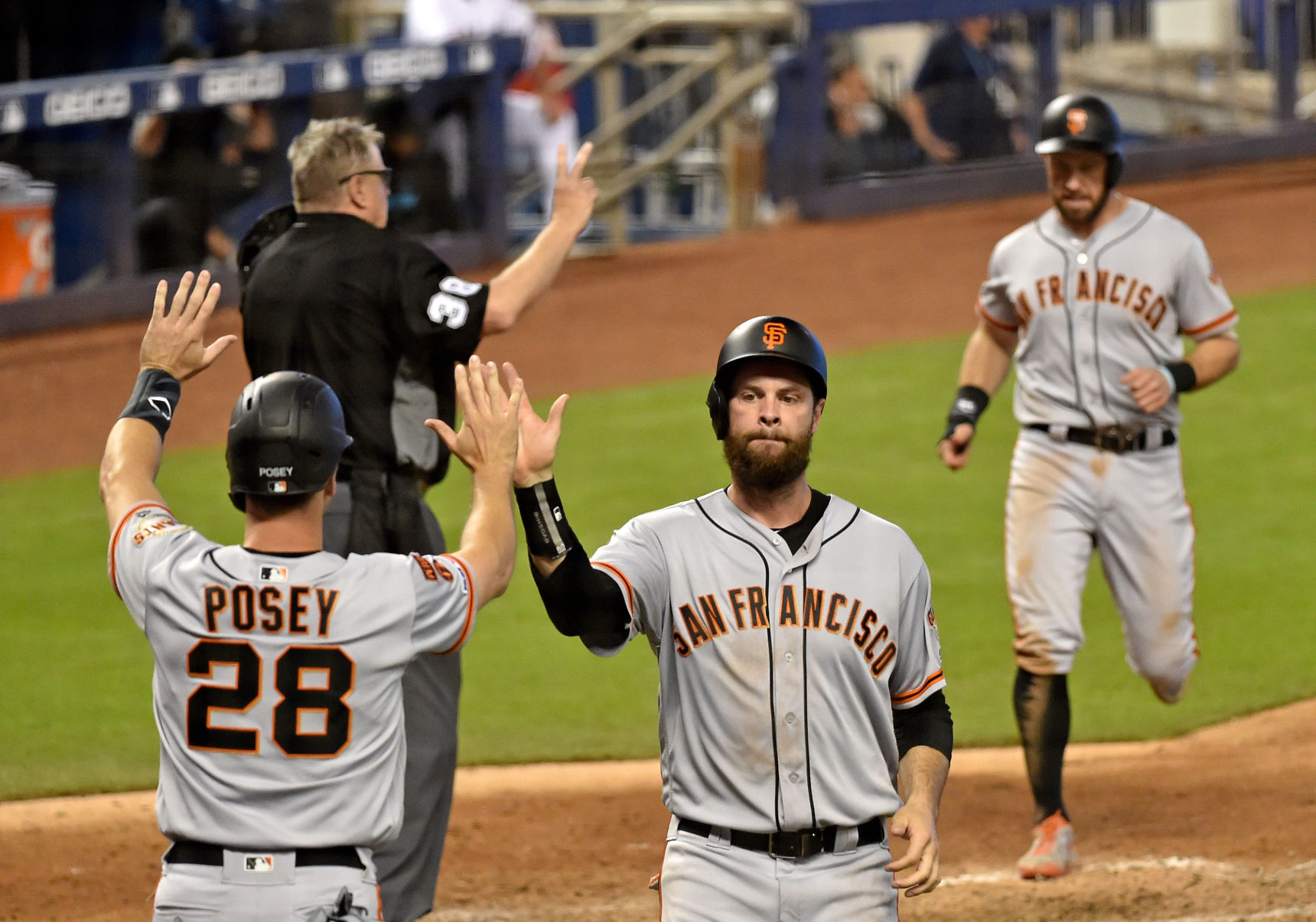 MLB: San Francisco Giants at Miami Marlins