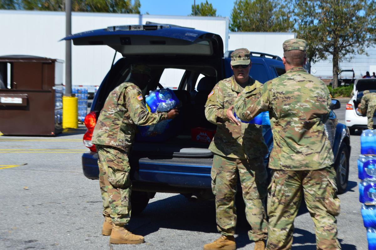 Georgia National Guard, fire department, commissioners provide storm relief