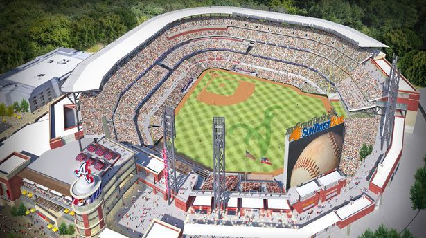 SunTrust Park canopy will be stadiumu0027s u0027signatureu0027 feature & SunTrust Park canopy will be stadiumu0027s u0027signatureu0027 feature ...