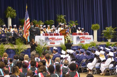 Four Dougherty County high schools graduate 837 seniors Saturday
