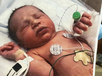 Sheriff: 'Divine intervention' that newborn was found unharmed in