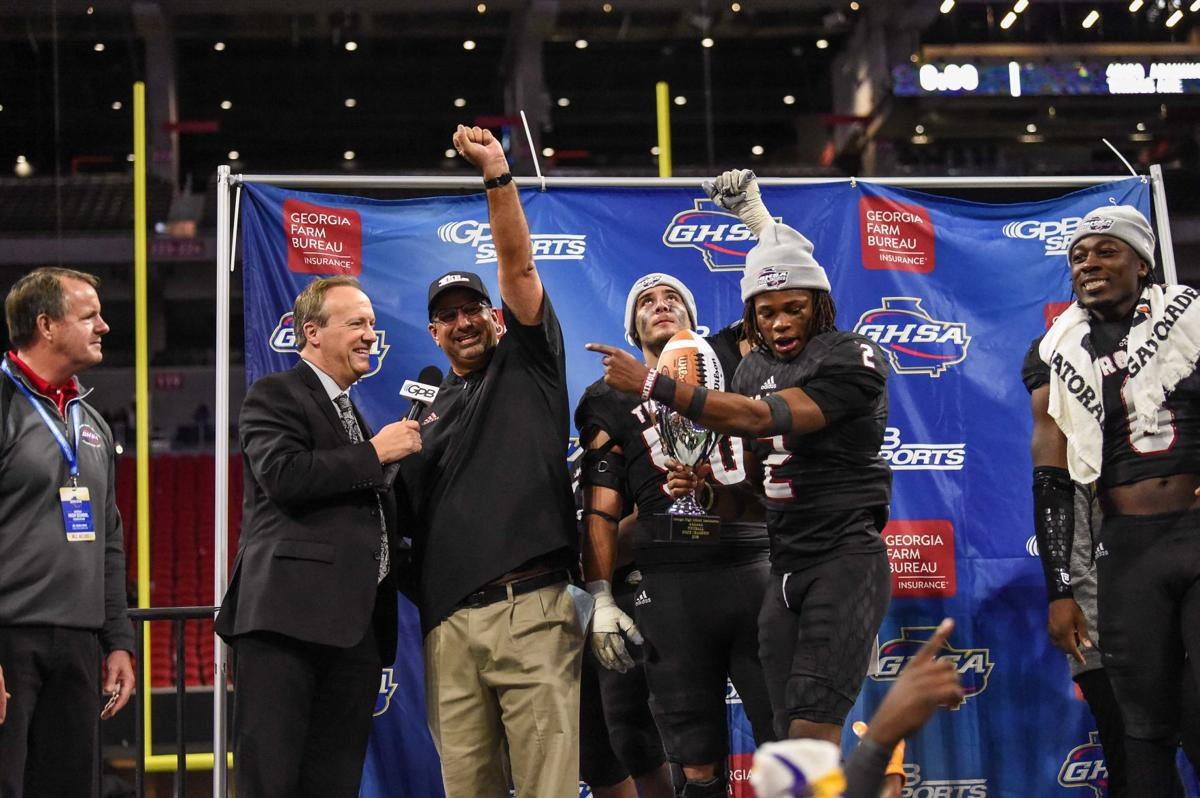 GHSA CLASS 6A STATE CHAMPIONSHIP: Lee County finishes first
