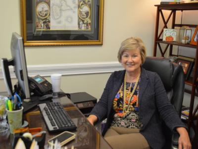 Cynthia George aims to keep job creation on course