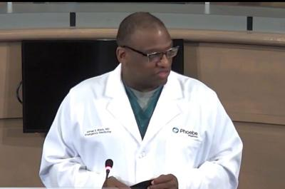 Antibody testing confirms high rate of COVID-19 infection in Dougherty County
