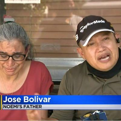 Mom, dad plead for help in search for missing daughter Noemi Bolivar