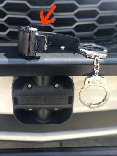 Slidell Police looking for owner of ankle monitor left in Chick-Fil-A bathroom