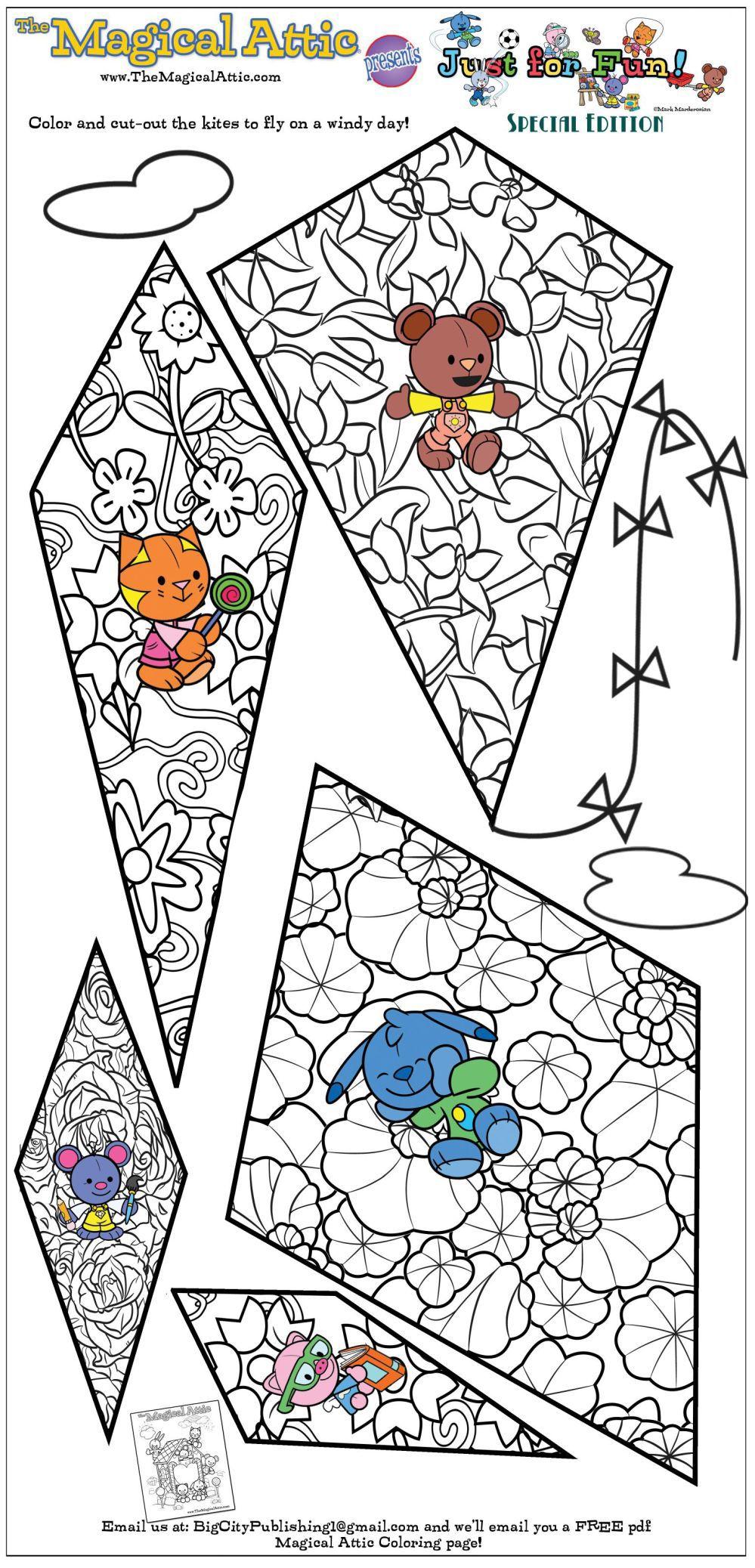 Just for fun: kites