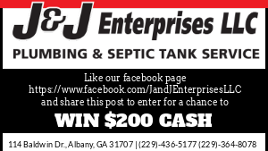 Enter for a chance to win $200 from J&J Enterprises