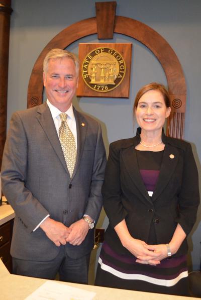 Hodges, fellow appellate court judge Gobeil visit Albany