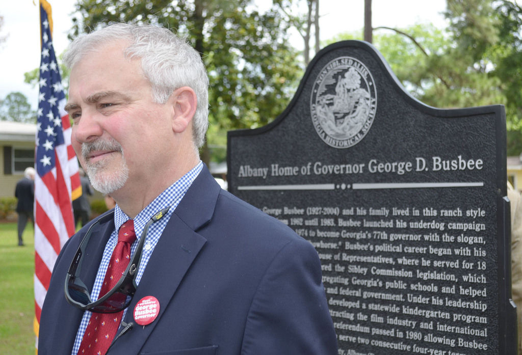 Historic Busbee marker unveiled