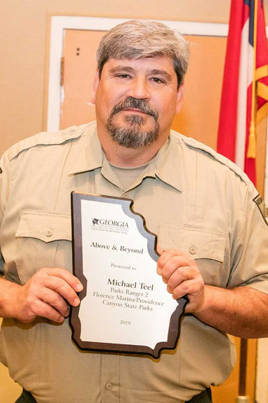 State park employees recognized