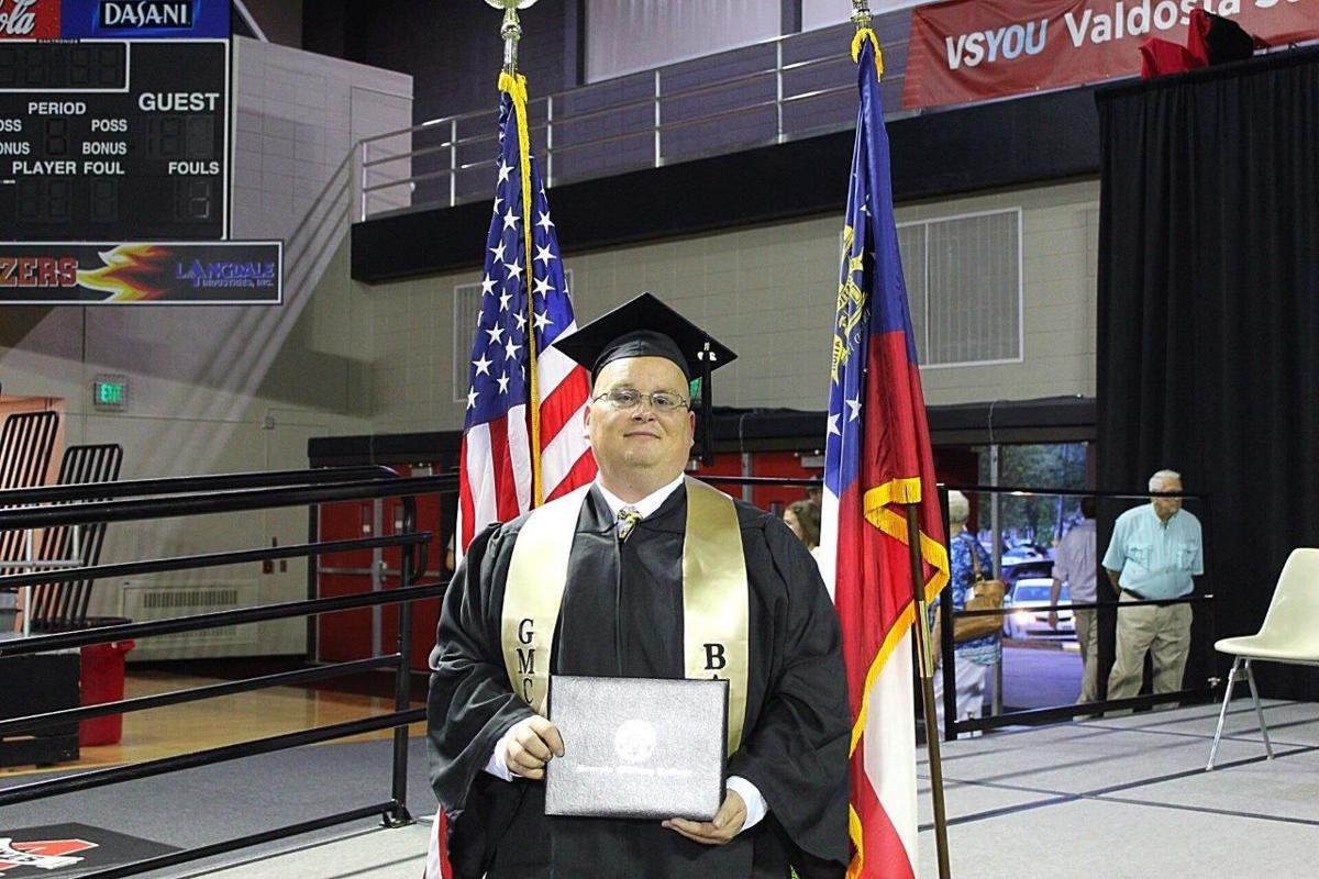 Georgia Military College's campus in Albany celebrates first graduates
