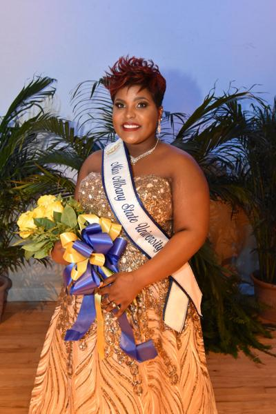 Miss Albany State Fahren Nipple learned to embrace herself