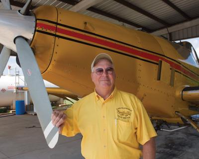 Crop dusting -- not for the faint of heart