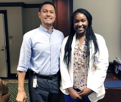 Medical student recognizes faculty,  Phoebe board reviews radiology advancements